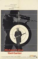 Get Carter Bullseye Wall Poster