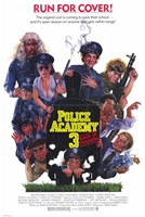 """Police Academy 3 Back in Training - 11"""" x 17"""""""