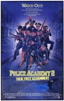 """Police Academy 2 Their First Assignment - 11"""" x 17"""""""
