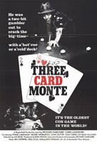 "Three Card Monte - 11"" x 17"" - $15.49"