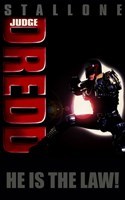 Judge Dredd Wall Poster