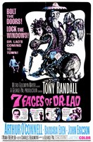 "7 Faces of Dr Lao - 11"" x 17"""