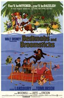 Bedknobs and Broomsticks Wall Poster