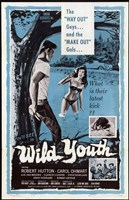 """Wild Youth - style A, 1960, 1960 - 11"""" x 17"""", FulcrumGallery.com brand"""