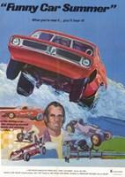 """Funny Car Summer - 11"""" x 17"""""""