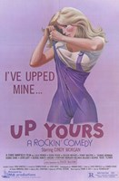 """Up Yours - 11"""" x 17"""" - $15.49"""