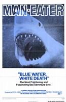"""Blue Water White Death - 11"""" x 17"""""""