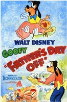 """Father's Day Off - 11"""" x 17"""" - $15.49"""