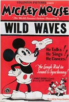 """Wild Waves - 11"""" x 17"""""""
