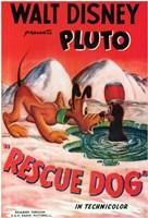 "Rescue Dog - 11"" x 17"""