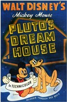 Pluto's Dream House Wall Poster