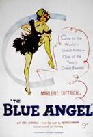 "Blue Angel - 11"" x 17"""