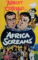 Abbott and Costello, Africa Screams, c.1949 - style A Fine Art Print