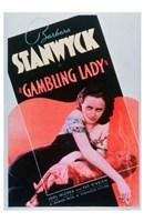 "Gambling Lady - 11"" x 17"""