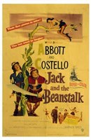 Abbott and Costello, Jack and the Beanstalk, c.1952 Fine Art Print