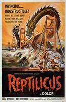 """Reptilicus In Color - 11"""" x 17"""" - $15.49"""