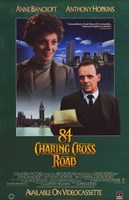 "84 Charing Cross Road - poster - 11"" x 17"""