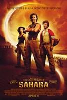 Sahara Zahn McConaughey Cruz Wall Poster