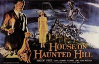 House on Haunted Hill Vincent Price Framed Print