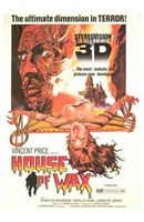 House of Wax Vincent Price 3D Wall Poster