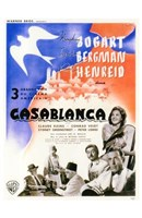 Casablanca Blue Bird Wall Poster