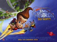 "Jimmy Neutron: Boy Genius - 17"" x 11"""