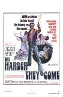 """The Harder They Come - 11"""" x 17"""" - $15.49"""