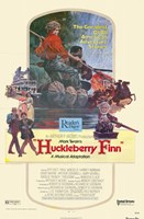 "Huckleberry Finn - 11"" x 17"""