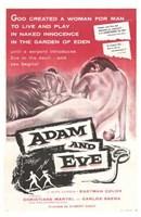 "Adam and Eve - 11"" x 17"" - $15.49"