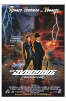 The Avengers Uma Thurman Wall Poster
