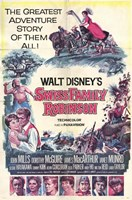 "Swiss Family Robinson Disney - 11"" x 17"", FulcrumGallery.com brand"