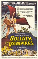 """Goliath and the Vampires - 11"""" x 17"""""""