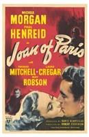 """Joan of Paris - 11"""" x 17"""""""