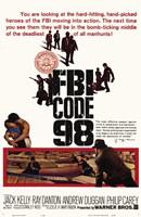 """Fbi Code 98 - 11"""" x 17"""""""