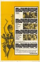 """Mozambique - 11"""" x 17"""""""