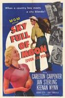 """Sky Full of Moon - 11"""" x 17"""""""