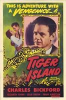 """Tiger Island - 11"""" x 17"""""""