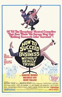 """How to Succeed in Business Without Reall - 11"""" x 17"""""""