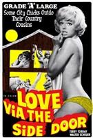 """Love Via the Side Door - 11"""" x 17"""""""