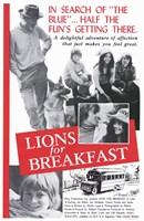 "Lions for Breakfast - 11"" x 17"""