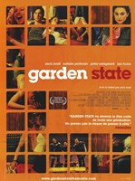 Garden State - scenes in orange Wall Poster