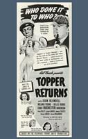 "Topper Returns - 11"" x 17"""