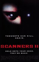 """Scanners 2: the New Order - 11"""" x 17"""", FulcrumGallery.com brand"""