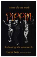"""Pippin (Broadway Musical) - 11"""" x 17"""""""