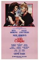 "Odd Couple  the (Broadway Play) - 11"" x 17"""