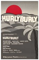 "Hurlyburly (Broadway Play) - 11"" x 17"""