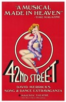 42Nd Street (Broadway Musical) Fine Art Print