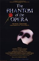 The Phantom of the Opera Broadway Musical Framed Print