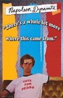 Napoleon Dynamite Vote for Pedro Wall Poster