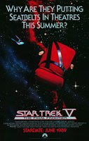 Star Trek 5: The Final Frontier (teaser) Wall Poster